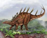 Kentrosaurus by mueller art