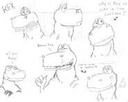 Rex sketches by Bowzilla