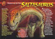 Saltasaurus front