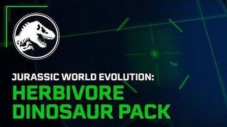 Jurassic World Evolution Herbivore Dinosaur Pack Launch Trailer