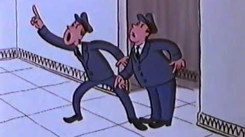Curious George and the Dinosaur (Old Cartoon 80's)