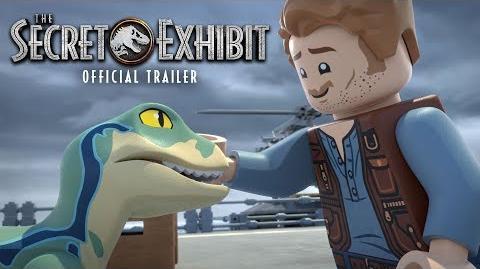 LEGO Jurassic World The Secret Exhibit Official Trailer Jurassic World