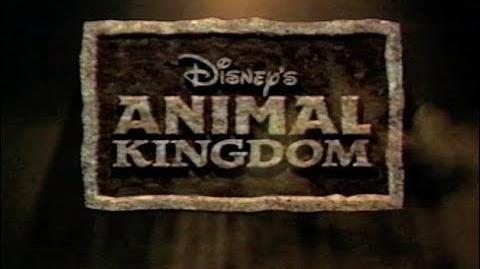 Walt Disney World Commercial (2000) Animal Kingdom - Dinosaur