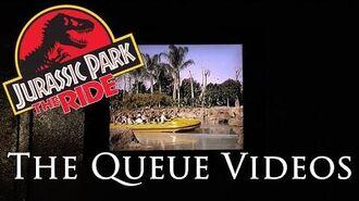 Jurassic Park- The Ride The Queue Videos