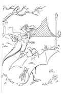 We're Back coloring page 8