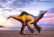 Deinocheirus by haghani-d8aeoib