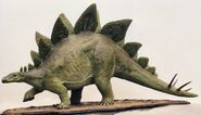 Papier mache stegosaurus 1995 by lonesome crow