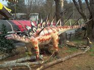 Kentrosaurus lifesize done by blade of the moon-d5yacju
