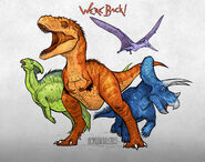 We re back a dinosaur s story by emilystepp-d9fpua2