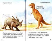 Tyrannosaurus and Styracosaurus