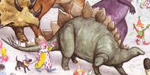 WB ADS Spike the Stegosaurus