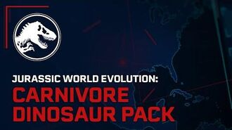 Jurassic World Evolution Carnivore Dinosaur Pack Out Now