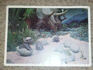Primeval World Dino egg card front