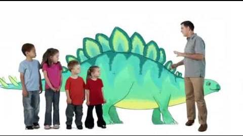 Stegosaurus Tail - Dinosaur Train - The Jim Henson Company