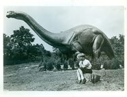 Jonas Studios 1964 World's Fair Apatosaurus