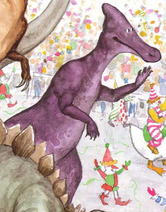 WB ADS Jorbi the Saurolophus