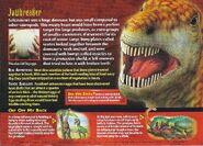 Saltasaurus back