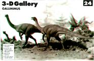 3D gallery Gallimimus