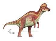 Corythosaurus casuarius by camusaltamirano-d67wx8h