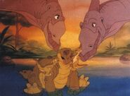 The land before time Spike's new family