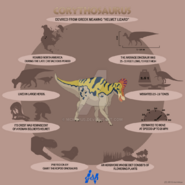 Corythosaurus lite infographics by mcmikius-d9fxlks