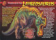 Lambeosaurus front