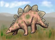 Stegosaurus by hairydalek-d5mfcfc