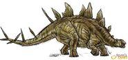 Kentrosaurus Operation Genesis concept