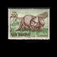 San Marino 1965 triceratops