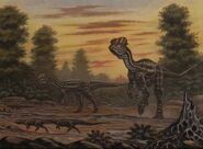 Dilophosaurus scutellosaurus by abelov2014-dbfy4h4