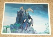Primeval World Pterodactyl card front