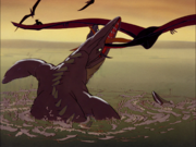 Fantasia mosasaur vore pteranodon