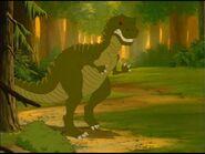 Land before time Giganotosaurus