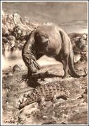 Gorgosaurus Scolosaurus Zdeněk Burian