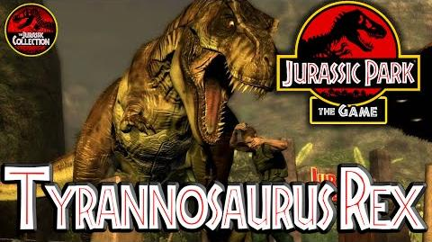 Jurassic Park The Game TYRANNOSAURUS REX Behind the Scenes