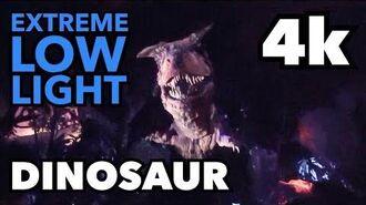 DINOSAUR Ride - Full Experience @ Disney's Animal Kingdom 4k Extreme Low Light