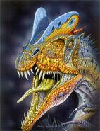 Dilophosaurus wetherilli by paleopastori-d1s3242
