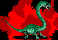 Jurassic park tanystropheus updated 2014 by hellraptor-d1ufg4e