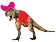 Captain Hook the carnotaurus
