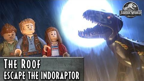 LEGO Jurassic World – Escape the Indoraptor – The Roof