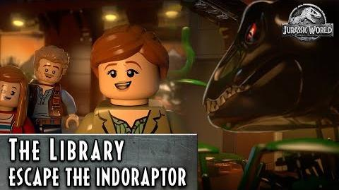 LEGO Jurassic World – Escape the Indoraptor – The Library