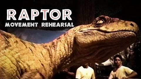 THE LOST WORLD JURASSIC PARK - Revisiting the Raptors - BEHIND-THE-SCENES