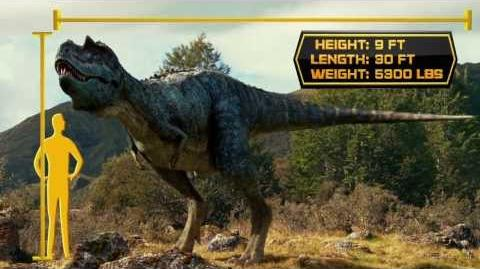 Walking With Dinosaurs Dino Files Speedy Gorgosaurus 20th Century FOX