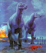 Iguanodon An Alphabet of Dinosaurs