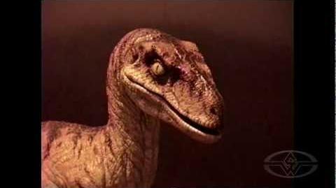 THE LOST WORLD JURASSIC PARK - Animatronic Raptor Test - Stan Winston Studio Behind the Scenes