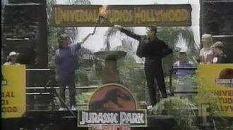 Jurassic Park- The Ride E! Live Premiere Special (June 15, 1996)