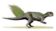 Psittacosaurus mongoliensis whole BW