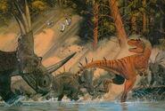 Gorgosaurus vs Styracosaurus
