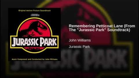 "Remembering Petticoat Lane (From The ""Jurassic Park"" Soundtrack)"