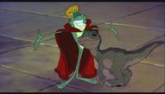 Dinosaur crossover Ducky and Jean-Bob